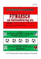 FITMARSCH - CUPSCHLAGER - Letztes Heimmatch